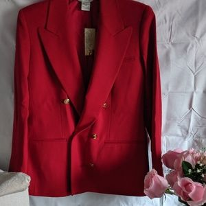Austin Reed Red Jacket Size 8
